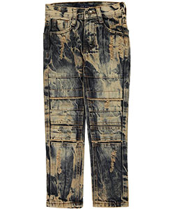 "GS-115 Little Boys' ""Layer Knee"" Jeans (Sizes 4 – 7) - CookiesKids.com"