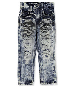 "GS-115 Little Boys' Toddler ""Motocross"" Jeans (Sizes 2T – 4T) - CookiesKids.com"