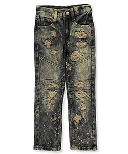 "GS-115 Little Boys' ""Brixton"" Jeans (Sizes 4 – 7) - CookiesKids.com"