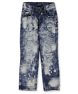 "GS-115 Little Boys' ""Dalston"" Jeans (Sizes 4 – 7) - CookiesKids.com"
