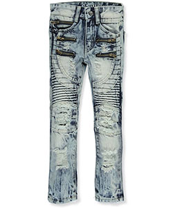 "GS-115 Little Boys' ""Circular Seamed"" Jeans (Sizes 4 – 7) - CookiesKids.com"