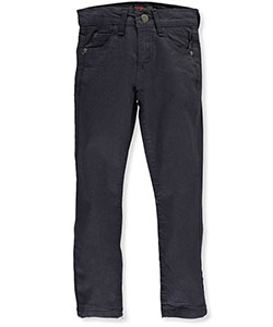 "Chams Little Boys' ""5-Pocket Stitch"" Straight Fit Jeans (Sizes 4 – 7) - CookiesKids.com"