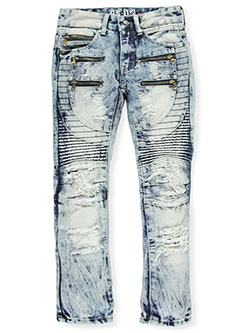 "GS-115 Big Boys' ""Circular Seamed"" Jeans (Sizes 8 – 20) - CookiesKids.com"
