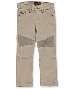 Chams Big Boys' Stretch Moto Jeans (Sizes 8 – 20) - CookiesKids.com