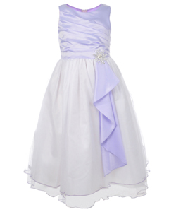 "Chic Baby Little Girls' ""Magic Snowflake"" Dress (Sizes 4 – 6X) - CookiesKids.com"