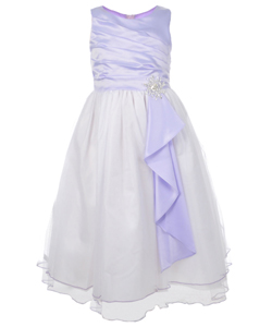 "Chic Baby Big Girls' ""Magic Snowflake"" Dress (Sizes 7 – 16) - CookiesKids.com"