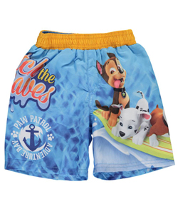 "Paw Patrol Baby Boys' ""Catch the Waves"" Swim Trunks - CookiesKids.com"