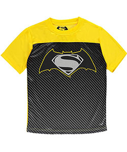 "Batman v Superman Little Boys' ""2 Heroes"" T-Shirt (Sizes 4 – 7) - CookiesKids.com"