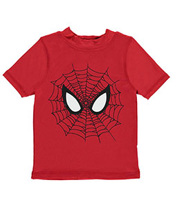"Spider-Man Little Boys' Toddler ""Webbed Eyes"" Rash Guard (Sizes 2T – 4T) - CookiesKids.com"