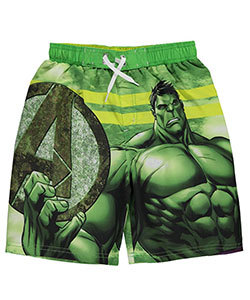 "Marvel Big Boys' ""Muscle Memory"" Boardshorts (Sizes 8 – 20) - CookiesKids.com"