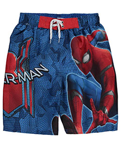 "Spider-Man Big Boys' ""Spider Scales"" Boardshorts (Sizes 8 – 20) - CookiesKids.com"