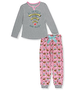 "Sleep On It Big Girls' ""Wi-Fry and Sleep"" 2-Piece Pajamas (Sizes 7 – 16) - CookiesKids.com"