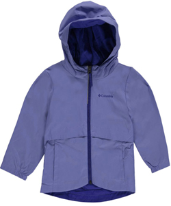 "Columbia Big Girls' ""Rain-Zilla"" Jacket (Sizes 7 – 16) - CookiesKids.com"