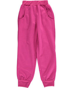 "Coney Island Little Girls' ""Janna"" Jogger Sweatpants (Sizes 4 – 6X) - CookiesKids.com"