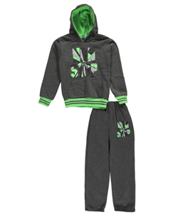 "Victory League Big Boys' ""Non Stop"" 2-Piece Fleece Sweatsuit (Sizes 8 – 20) - CookiesKids.com"