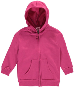 "Coney Island Baby Girls' ""Heart Zip"" Fleece Hoodie - CookiesKids.com"