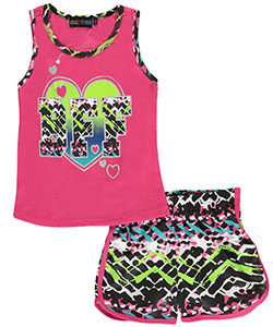 "Coney Island Little Girls' Toddler ""Cool BFF"" 2-Piece Outfit (Sizes 2T – 4T) - CookiesKids.com"