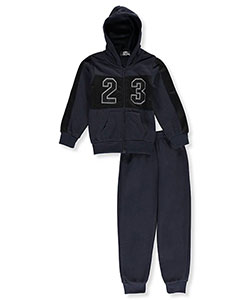 "Coney Island Little Boys' Toddler ""Mesh 23"" 2-Piece Fleece Sweatsuit (Sizes 2T – 4T) - CookiesKids.com"