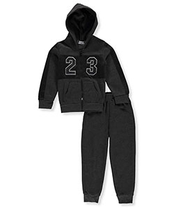 "Coney Island Little Boys' ""Mesh 23"" 2-Piece Fleece Sweatsuit (Sizes 4 – 7) - CookiesKids.com"