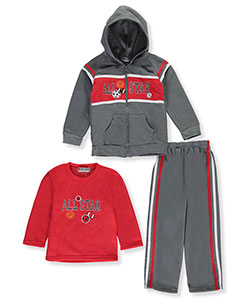 "Coney Island Little Boys' Toddler ""All-Star Drive"" 3-Piece Outfit (Sizes 2T – 4T) - CookiesKids.com"