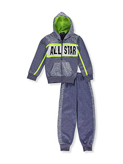 Coney Island Little Boys' 2-Piece Fleece Sweatsuit (Sizes 4 – 7) - CookiesKids.com