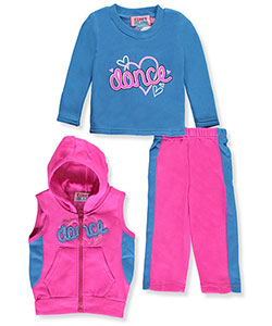 Coney Island Baby Girls' 3-Piece Fleece Outfit - CookiesKids.com