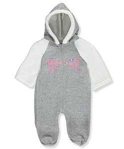 Coney Isle Baby Girls' Footed Coverall - CookiesKids.com