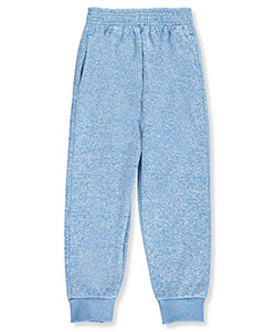 Coney Island Little Girls' Heather Fleece Joggers (Sizes 4 – 6X) - CookiesKids.com