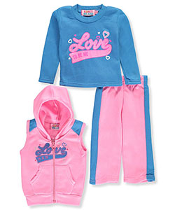 Coney Island Baby Girls' 3-Piece Outfit - CookiesKids.com