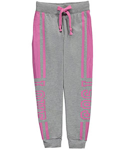 "Coco Pink Big Girls' ""Love 1983"" Joggers (Sizes 7 – 16) - CookiesKids.com"