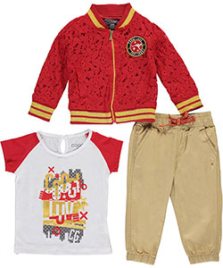 "Coogi Baby Girls' ""Luv Coogi"" 3-Piece Outfit - CookiesKids.com"