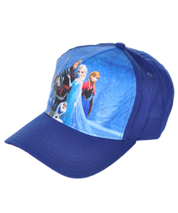 "Disney Frozen ""Snowy Scene"" Baseball Cap (Youth One Size) - CookiesKids.com"