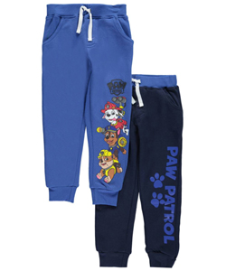 "Paw Patrol Little Boys' Toddler ""On Patrol"" 2-Pack Joggers (Sizes 2T – 4T) - CookiesKids.com"