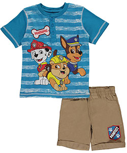 "Paw Patrol Little Boys' Toddler ""Paws Up"" 2-Piece Outfit (Sizes 2T – 4T) - CookiesKids.com"