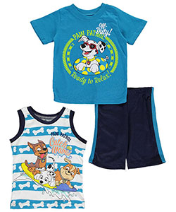 "Paw Patrol Little Boys' Toddler ""Ready to Relax"" 3-Piece Set (Sizes 2T – 4T) - CookiesKids.com"