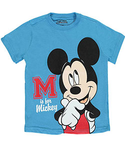 "Mickey Mouse Little Boys' Toddler ""M Is for Mickey"" T-Shirt (Sizes 2T – 4T) - CookiesKids.com"