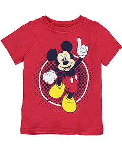 "Mickey Mouse Little Boys' ""Circle Parade"" T-Shirt (Sizes 4 – 7) - CookiesKids.com"