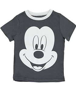 "Mickey Mouse Little Boys' ""Look Ma, No Ears!"" T-Shirt (Sizes 4 – 7) - CookiesKids.com"