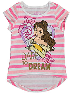 "Disney Princess Little Girls' Toddler ""Dare to Dream"" T-Shirt (Sizes 2T – 4T) - CookiesKids.com"
