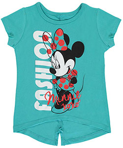 "Minnie Mouse Little Girls' Toddler ""Model Minnie"" T-Shirt (Sizes 2T – 4T) - CookiesKids.com"