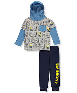 "Despicable Me Little Boys' Toddler ""Shadow Slider"" 2-Piece Outfit (Sizes 2T – 4T) - CookiesKids.com"