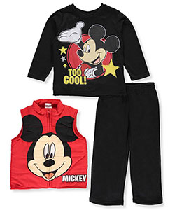 "Mickey Mouse Little Boys' Toddler ""Too Cool!"" 3-Piece Outfit (Sizes 2T – 4T) - CookiesKids.com"