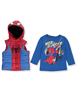 "Spider-Man Little Boys' ""Web Slinger"" 2-Piece Set (Sizes 4 – 7) - CookiesKids.com"