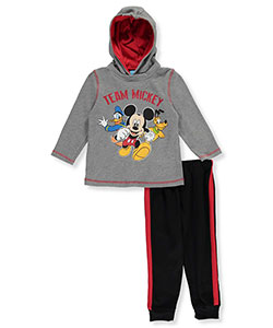 "Disney Little Boys' Toddler ""Team of Friends"" 2-Piece Outfit (Sizes 2T – 4T) - CookiesKids.com"