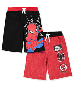 Spider-Man Boys' 2-Pack French Terry Shorts - CookiesKids.com