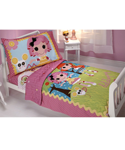 "Lalaloopsy ""Sew Magical"" 4-Piece Toddler Bedding Set - CookiesKids.com"