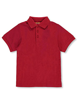 Universal Little Boys' S/S Pique Polo (Sizes 4 – 7) - CookiesKids.com