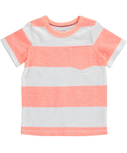 "Carter's Little Boys' ""Sunshine Stripes"" T-Shirt (Sizes 4 – 7) - CookiesKids.com"