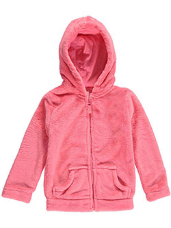 "Carter's Little Girls' ""Fuzzy Fun"" Hoodie (Sizes 4 – 6X) - CookiesKids.com"