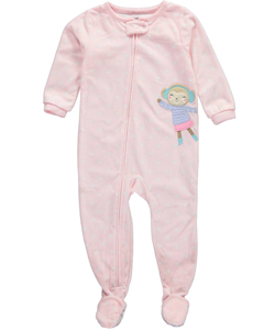 "Carter's Baby Girls' ""Ice Waltz"" Footed Pajamas - CookiesKids.com"